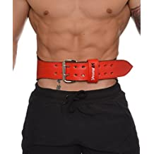 YoungLA Weightlifting Belt Leather Great Back and Lumbar Support w/ 1 year warranty