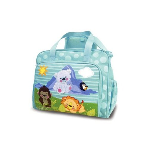 Precious Planet Fisher Price Diaper Bag Tote Large New Blue