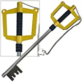 Be part of the game with your very own Kingdom Hearts Keyblade To The City Wooden Prop Replica! This detailed piece comes to you straight from the Kingdom Hearts video game and is the sword of Sora. The Dark Link Shadow Legend of Zelda Master Sword m...