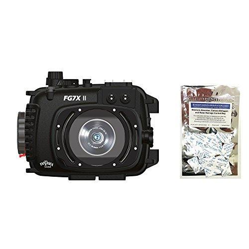 Fantasea FG7X II Housing for Canon G7 X Mark II w/Moisture Absorbers