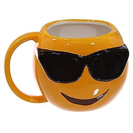 Dochsa Gafas de Sol CWL Emoji Taza