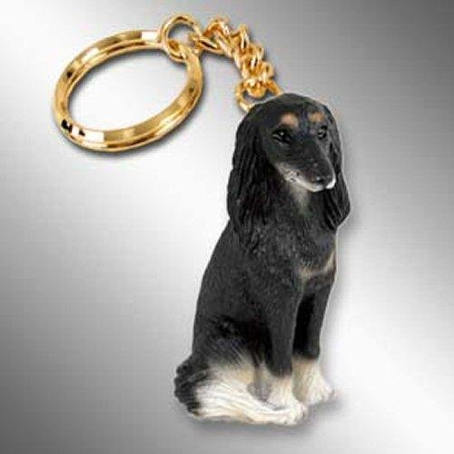 (Conversation Concepts Saluki Tiny Ones Dog Keychains (2 1/2 in))