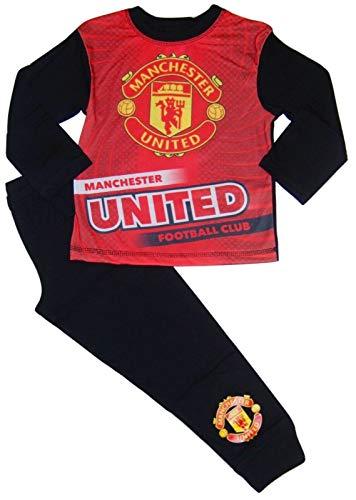Boys Manchester United Football Club Pyjamas Man Utd MUFC Younger & Older Boys