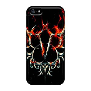 High Quality Black Veil Brides Cases For Iphone 5/5s / Perfect Cases