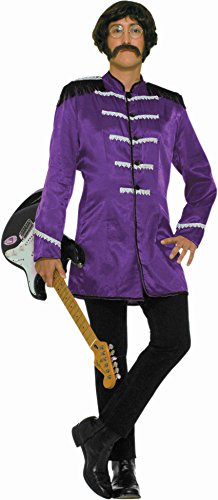 British Explosion Costumes (Forum 60's Revolution British Invasion Pop Star Costume, Purple, One Size)