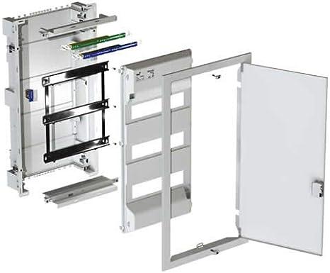 Solera serie metalbox - Caja metalbox 362x778x95 hasta 56 elementos: Amazon.es: Bricolaje y herramientas