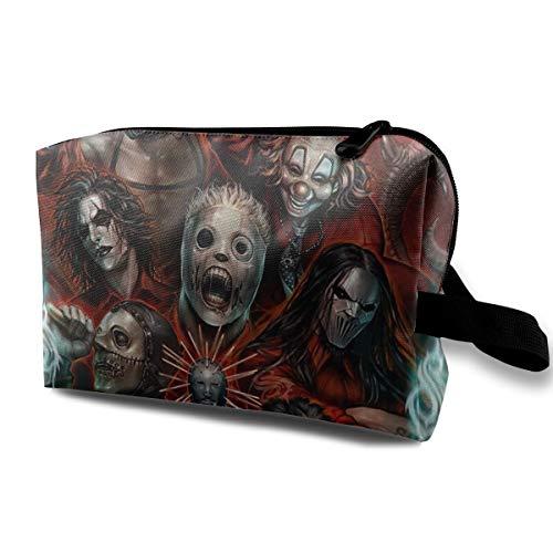 BradStaplesz Unisex Slipknot Durable Music Band Travel Cosmetic Storage Bag ()