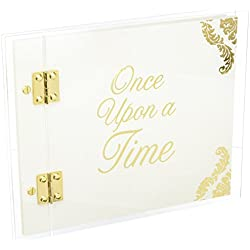Darice David Tutera Fairytale Guestbook - Clear Acrylic Cover