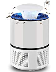 فخ البعوض والحشرات مع مصباح الكتروني لجذبها وسحبها وقتلها بالصعق، مجهز بمنفذ طاقة USB وهو جهاز صديق للبيئة
