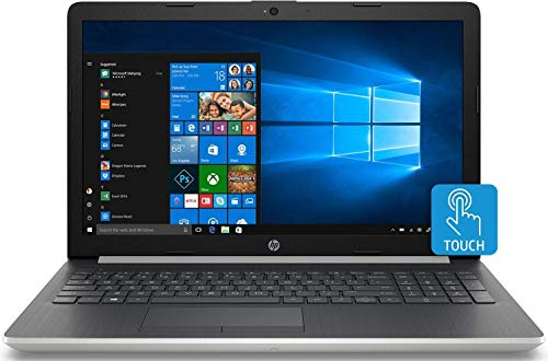 Newest HP 15.6 Inch HD Touchscreen Flagship Laptop, Intel Dual Core i5-7200U 2.50 GHz, 16GB DDR4 Memory, 256GB SSD, DVD-RW, Card Reader, 802.11b/g/n/ac, HDMI, Webcam, Bluetooth, Windows 10, Silver (Hp Usb Bluetooth Adapter)