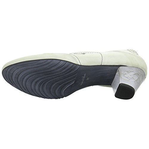 Maciejka 0279703005 - Zapatos de cordones de Piel para mujer Gris