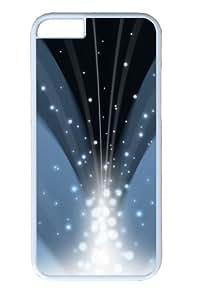 Cascade Of Magic Powder Dark Blue Custom iphone 6 plus Case Cover Polycarbonate White