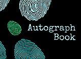 Autograph Book: Blank Keepsake Memory Log Book