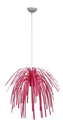 Hot Pink Chandelier (Present Time SY100978PI-110V Silly Fireworks Pendant Lamp, Pink)