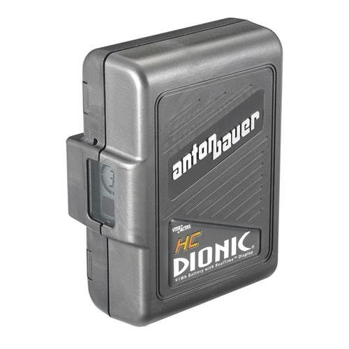 Anton Bauer Dionic HC Digital Interactive Lithium-Ion Battery, 14.4 volts, 91 watt hours