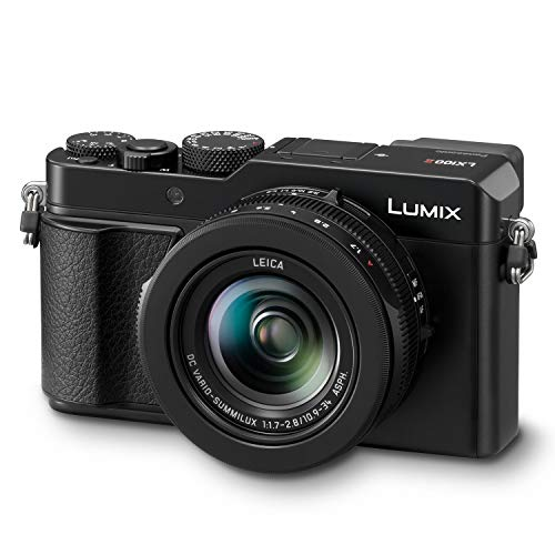 Panasonic Cctv (Panasonic Lumix LX100 II Large Four Thirds 21.7 MP Multi Aspect Sensor 24-75mm Leica DC VARIO-SUMMILUX F1.7-2.8 Lens Wi-Fi and Bluetooth Camera with 3