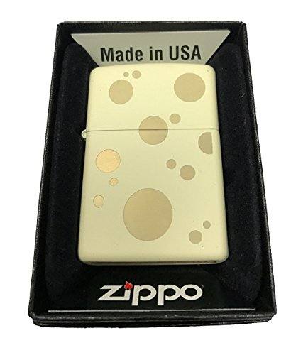 Zippo-Custom-Lighter-Swiss-Cheese-Double-Sided-Design-Cream-Matte