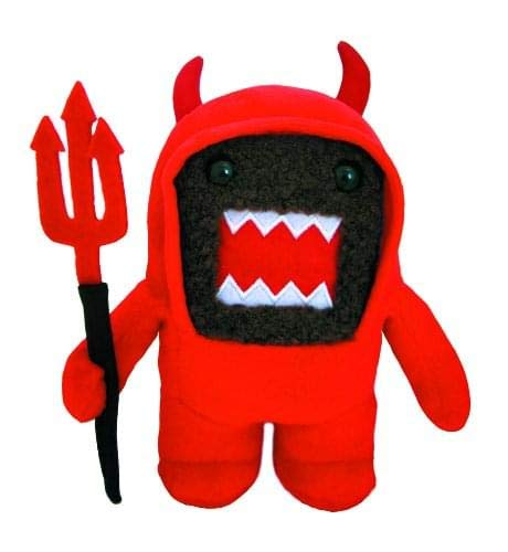Halloween Domo Plush (License 2 Play Domo: Devil 6 1/4