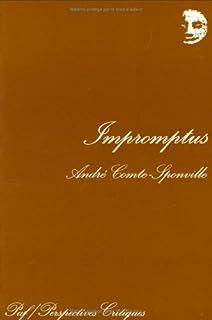 Impromptus, Comte-Sponville, André