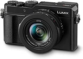 Panasonic Lumix LX100 II Large Four Thirds 21.7 MP Multi Aspect Sensor 24-75mm Leica DC VARIO-SUMMILUX F1.7-2.8 Lens...
