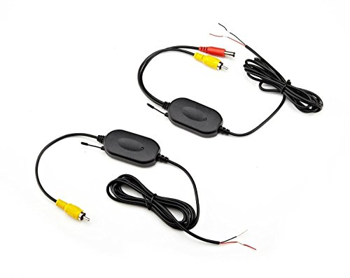 Car TFT LCD Mirror Monitor 2.4G wireless Transmitter and Reverse Car Rear View Backup Camera Kit(Black) - Automotive Navigation Kit