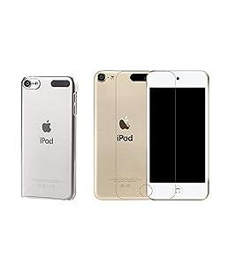 Apple iPod Touch 6 - COMBO Pellicola Proteggi-schermo in Vetro Temperato + Custodia Trasparente