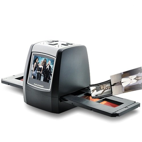 BW 1.4inch Film Scanner - LCD, SD Card Slot - Black by BW