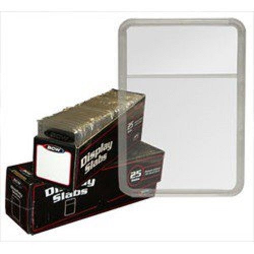 - BCW Display Slabs Box of 25: (Use w/Foam Inserts Sold Separately) Stamps Coins