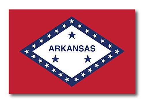 Arkansas Car Magnet US State Flag Refrigerator Locker SUV Heavy Duty Waterproof…
