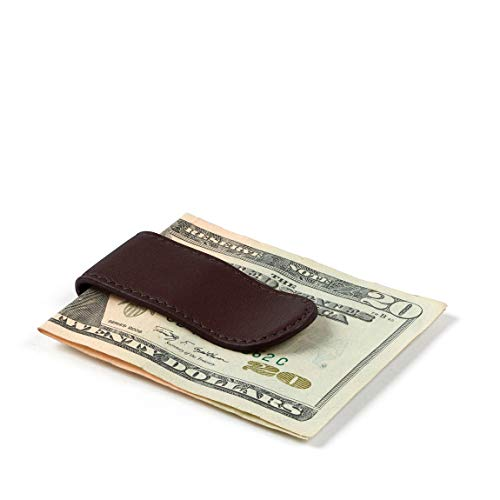 Leatherology Men's Money Clip - Full Grain Leather Leather - Brown (Brown)