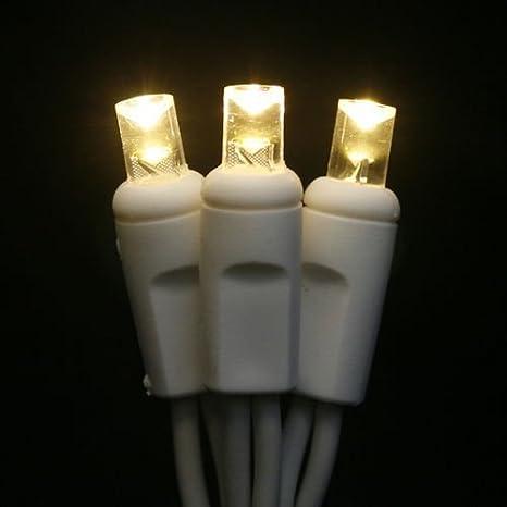 christmas lite co led weddingchristmas light string 100 warm white wide angle 5mm