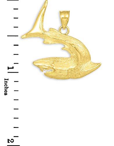 10 ct 471/1000 Structure Or Requin Pendentif
