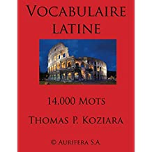 Vocabulaire Latine (French Edition)