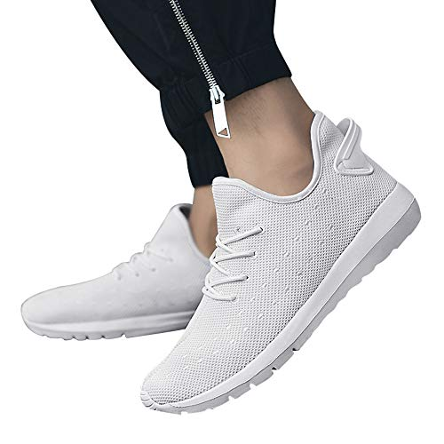 Gyoume Men Women Outdoor Mesh Shoes Lace Up Shoes Running Sports Shoes Comfortable Soles Shoes by Gyoume (Image #1)