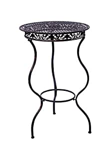 Muebles de jardín muebles de hierro mesa de bar mesa de bar 105cm estilo