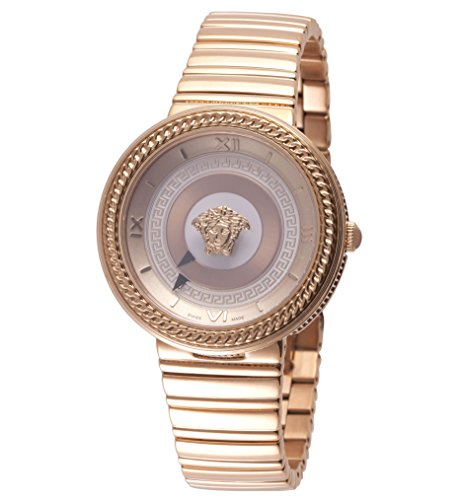 Versace-Womens-V-METAL-ICON-Swiss-Quartz-Stainless-Steel-Casual-Watch-Model-VLC100014