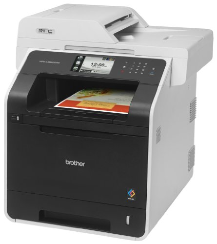 Brother Printer MFC-L8850CDW Wireless Color Laser Printer with Scanner, Copier and Fax, Amazon Dash Replenishment Enabled by Brother (Image #1)