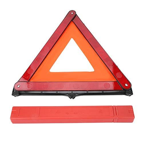 Reflecterend driehoekig, universeel opvouwbare auto, reflecterend driehoek-noodfout-waarschuwingsbord-autostopplaatje