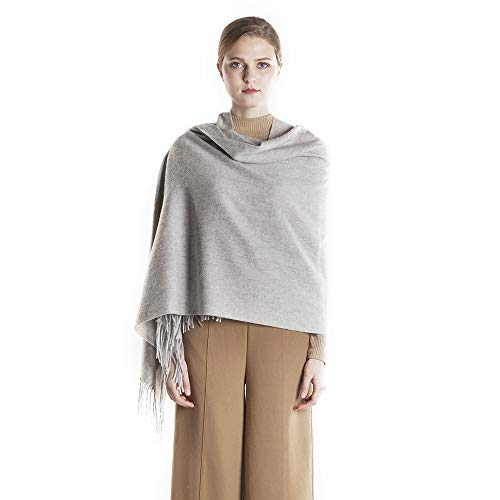 KAISIN 100% Wool Women Soft Shawl Ultra-Plush Comfort Largesize Blanket Scarf,Use For Home,Outdoor,Travel by KAISIN (Image #5)