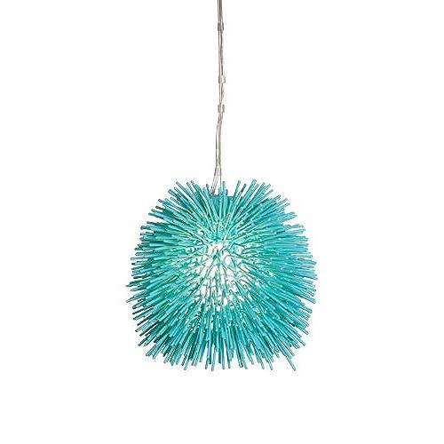 Aqua mini pendant lighting amazon urchin 1 light mini pendant aqua velvet finish mozeypictures Choice Image