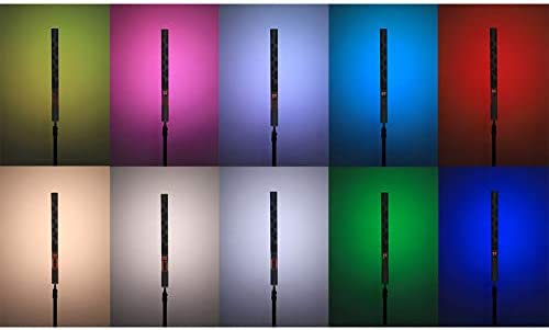 YONGNUO YN260 Ice Stick Built-in Battery LED Video Light 3200K-5600K CRI 95 RGB Full Color Support Mobile APP Remote Control Portrait Interview Product Photography Lighting