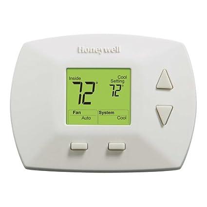 honeywell rth5100b1025 deluxe manual thermostat programmable rh amazon com honeywell focuspro 6000 programmable thermostat th6110d1005 manual honeywell thermostat installation manual th6110d1005