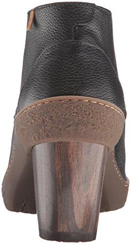 El Naturalista Womens Nf74 Lichen Ankle Bootie Black MYBn0