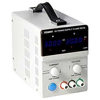 Tenma 60v 2a Variable Bench Power Supply Programmable