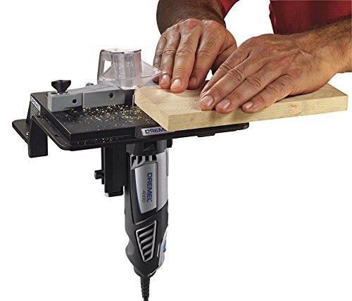 Dremel ShaperRouter Table 231 Adjustable Fence Rotary Tool Slot Groove Sand