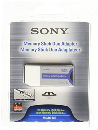 Memory Stick Pro Duo Usb Adapter - Sony Media Memory Stick Duo Replacement Adaptor (MSAC-M2)