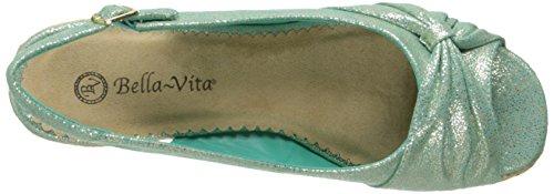 Bella Vita Sangria Too Espadrille Sandal Sea Mist / Gold Para Mujer