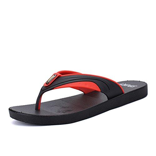 de red Hombre verano zapatillas de chanclas agarre el zapatillas Black and playa antideslizantes 7qwOqd