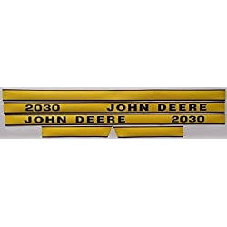 New Hood Decal Set Made To Fit John Deere Tractor
