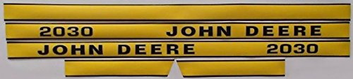 New Hood Decal Set Made To Fit John Deere Tractor 2030 Replaces Part Number J. by RAPartsinc